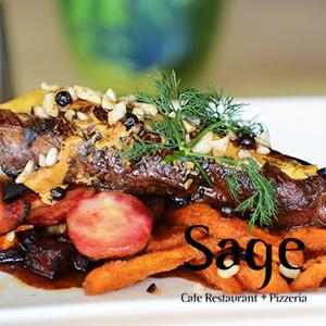 Sage restaurant menu